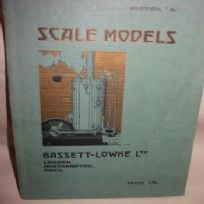 "Bassett-Lowke Scale Models Catalogue Section ""B"""